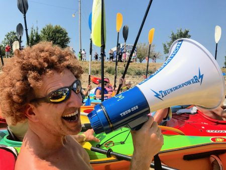 Shef-Megaphone-Kayak-talent
